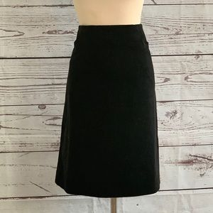 Lilly Pulitzer Vintage Black Pencil Skirt